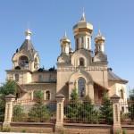 Благотворительные работы по ландшафту в соборе имени Серофима Саровского п.Пригородный