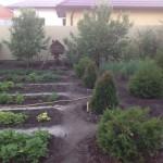 Сочетание ландшафтного дизайна и огорода